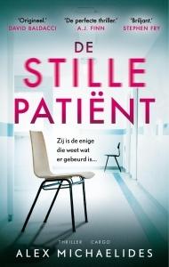 De stille patiënt Boek omslag
