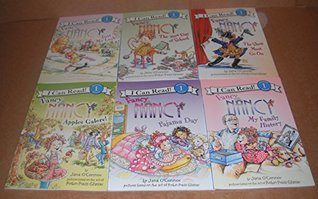 I Can Read Fancy Nancy - 6 Book Set (Just My Lusk!, The 100th Day of School, Apples Galore!, My Family History, Pajama Day, The Show Must Go On)