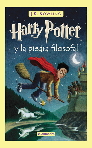 Harry Potter y la piedra filosofal (Harry Potter, #1)