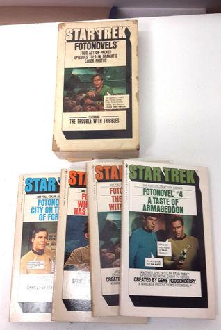Star Trek Fotonovels 1-4 Set