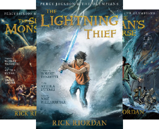 Percy Jackson and the Olympians- The Graphic Novel (3 Book Series)