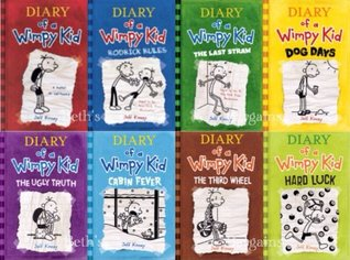 Diary of a Wimpy Kid Collection 8 Book Pack by Jeff Kinney