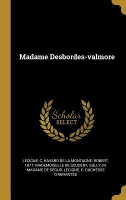 Madame Desbordes-Valmore