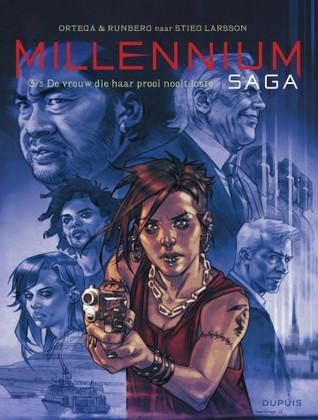 De vrouw die haar prooi nooit loste (Millennium Saga, #3)