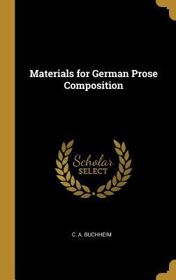 Materials for German Prose Composition