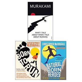 What I Talk About When I Talk About Running, Born To Run, Natural Born Heroes 3 Books Collection Set
