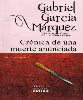 Crónica de una Muerte Anunciada - Texto original