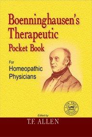 Boenninghausens Therapeutic Pocket Book