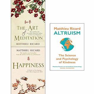 Matthieu ricard collection 3 books set