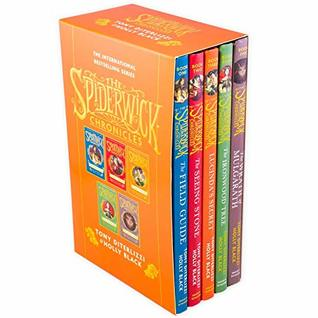 The Spiderwick Chronicles 5 Books (The Field Guide, The Seeing Stone, Lucinda's Secret, The Ironwood Tree, The Wrath of Mulgarath)