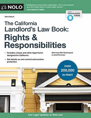 California Landlord's Law Book, The: Rights & Responsibilities: Rights & Responsabilities (California Landlord's Law Book : Rights and Responsibilities)