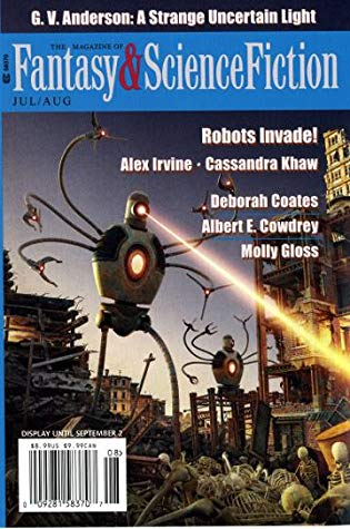 The Magazine of Fantasy & Science Fiction, July/August 2019 (F&SF, #744)