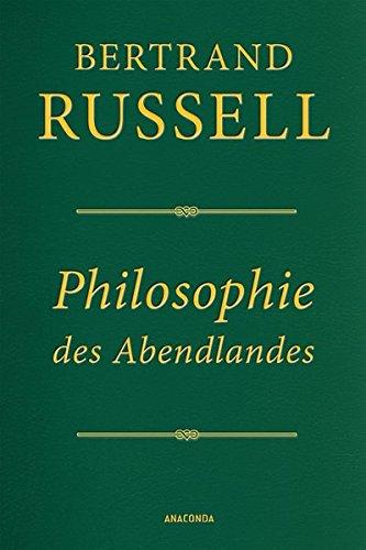 Philosophie des Abendlandes (Cabra-Lederausgabe): Ihr Zusammenhang mit der politischen und sozialen Entwicklung