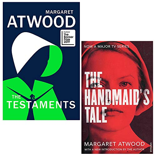 Margaret Atwood 2 Books Collection Set: The Testaments [Hardcover], The Handmaid's Tale