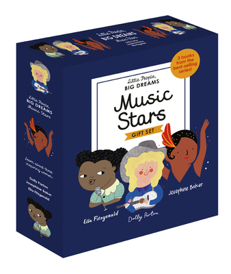 Little People, BIG DREAMS: Music Stars: 3 books from the best-selling series! Ella Fitzgerald - Dolly Parton - Josephine Baker
