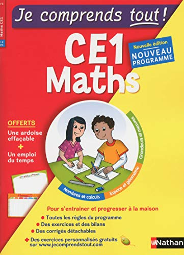 Maths CE1 Je comprends tout !