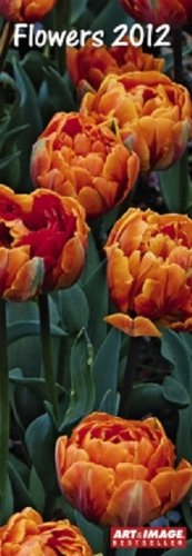 2012 A&I Flowers Slim Notes Calendar