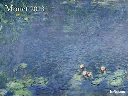 2013 Claude Monet Super Poster Calendar