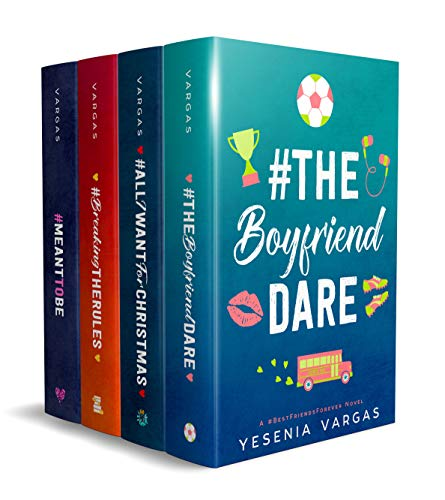 #BestFriendsForever Series (Books 4-7): 4 Sweet YA Romance Books