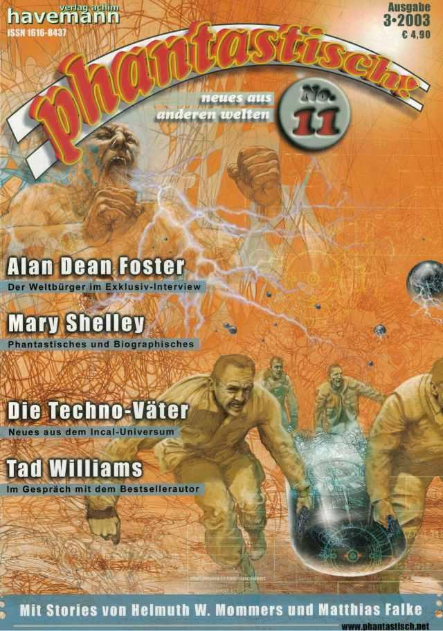 phantastisch! Ausgabe 11 (3/2003)