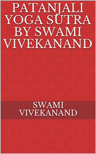 Patanjali yoga sutra by swami vivekanand