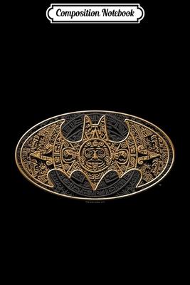 Composition Notebook: Batman Aztec Bat Logo Journal/Notebook Blank Lined Ruled 6x9 100 Pages