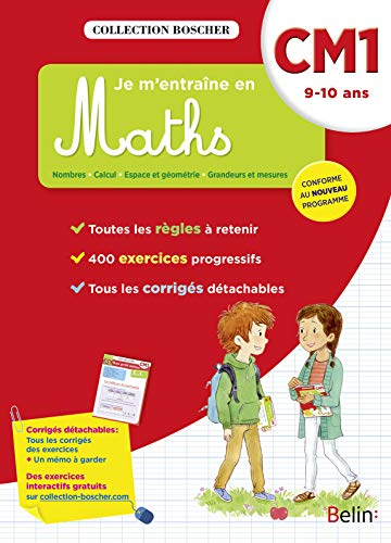 Je m'entraîne en maths CM1