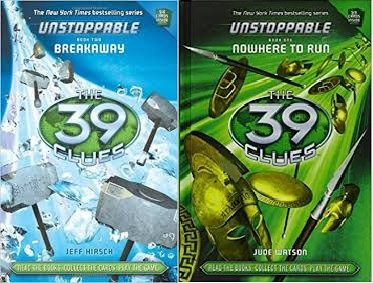 The 39 Clues®: Unstoppable Pack: (2 Book Set) The 39 Clues®: Unstoppable #1: Nowhere to Run / The 39 Clues®: Unstoppable #2: Breakaway