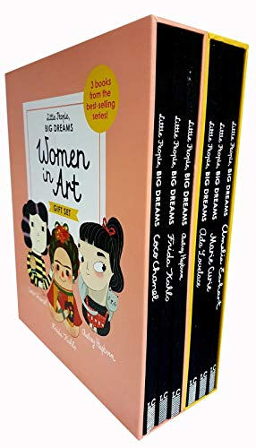 Little people big dreams women in art and science collection 6 books gift box set