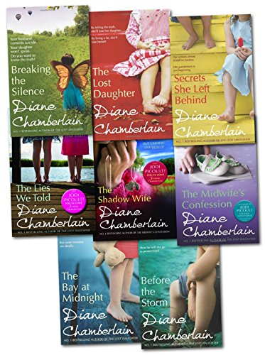 Diane Chamberlain Collection 8 Books Set (The Lost Daughter, Before the Storm, Secrets She Left Behind, The Bay at Midnight, Breaking the Silence, The Shadow Wife..