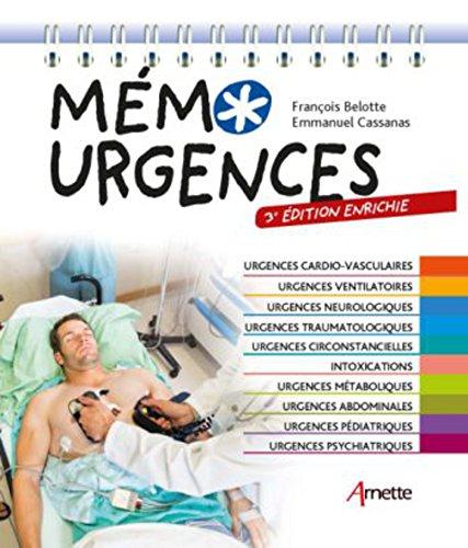 Mémo Urgences (3e édition enrichie)