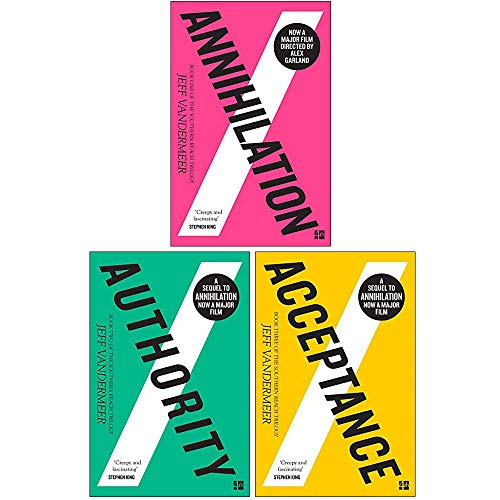 Southern Reach Trilogy 3 Books Collection Set By Jeff VanderMeer