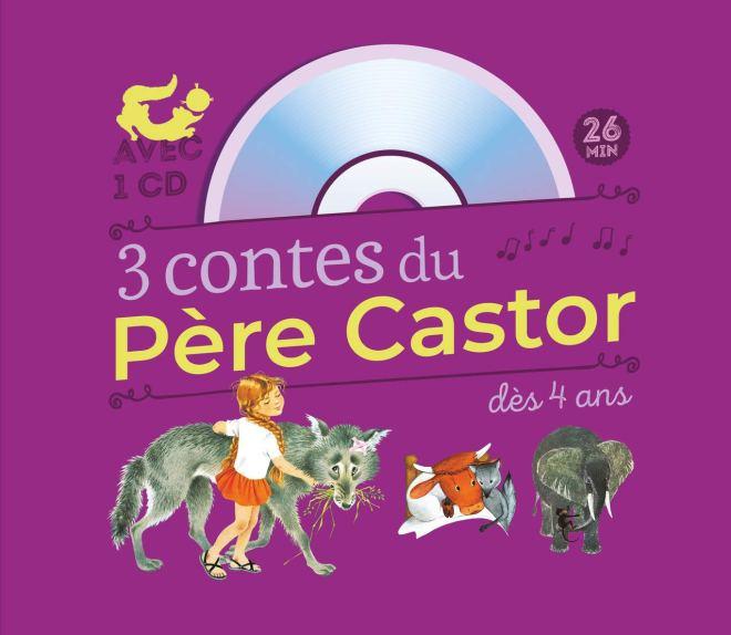 3 contes du Père Castor : Marlaguette - La Vache orange - Une histoire de singe