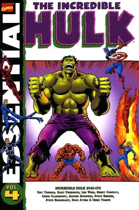 Essential Incredible Hulk, Vol. 4