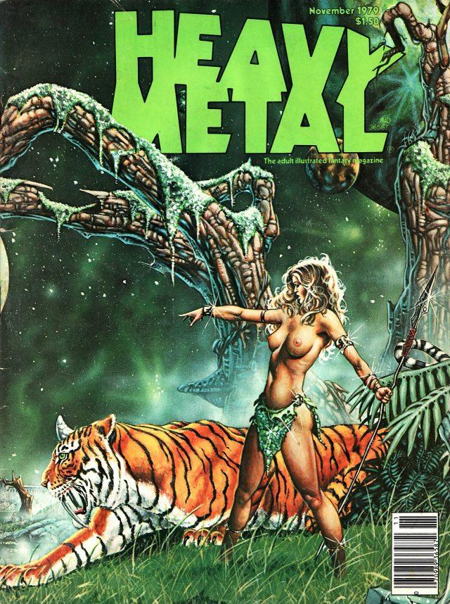 Heavy Metal, November 1979 (Heavy Metal #32)