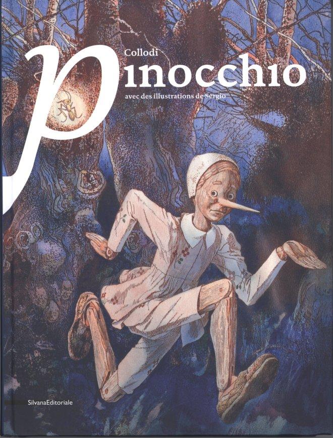 Collodi Pinocchio: Illustrations de Sergio