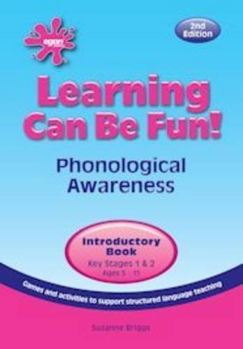 Learning Can be Fun!: Introductory Book: Phonological Awareness
