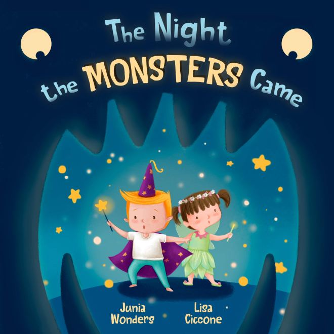 The Night the Monsters Came (A Charming Rhyming Picture Book for Children About Personal Hygiene; A Bedtime Book for Kids About Being Brave)