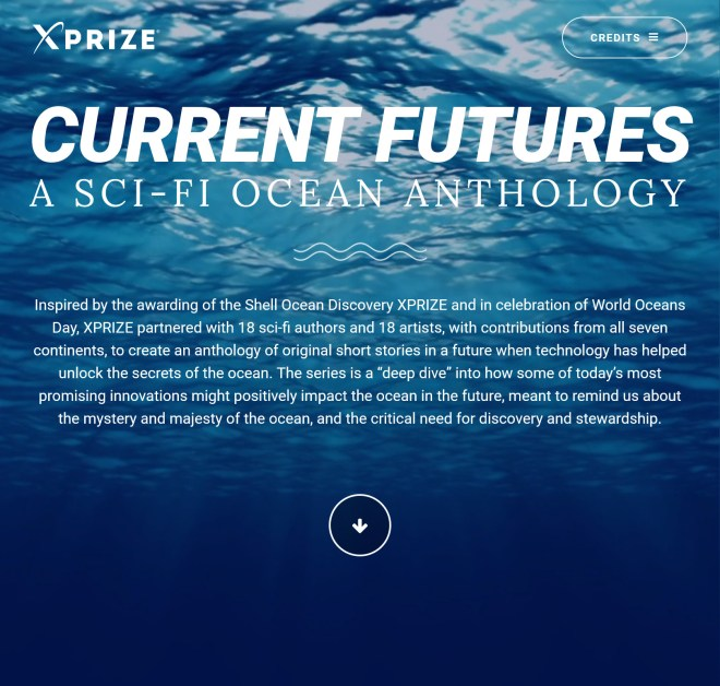 Current Futures: A Sci-Fi Ocean Anthology