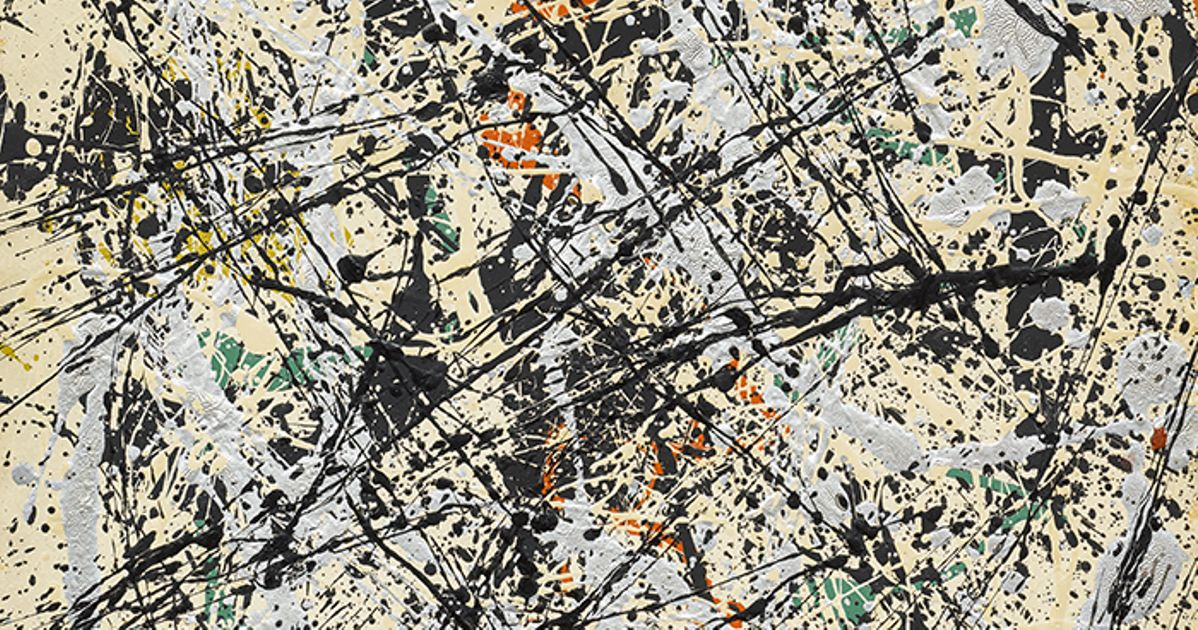 Sotheby S To Offer Jackson Pollock Drip Painting In May