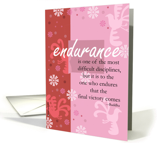End of chemo card with buddhist quote greeting cards for cancer end of chemo card with buddhist quote m4hsunfo
