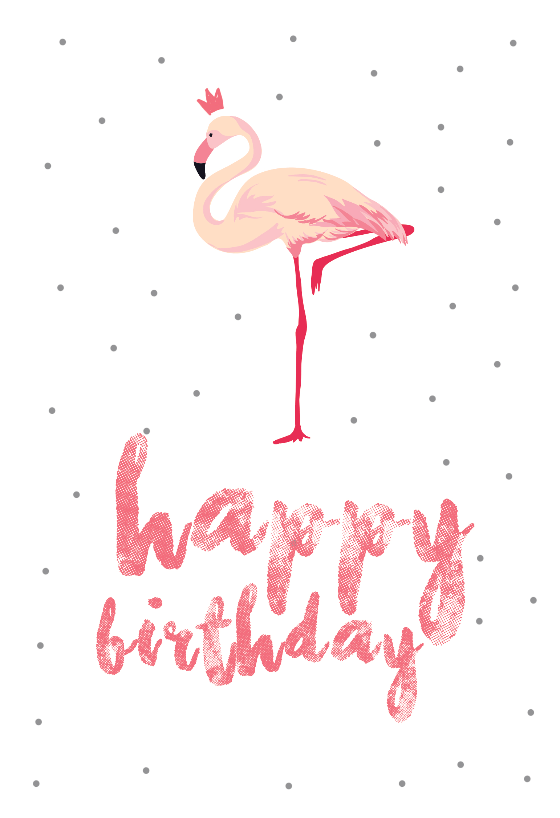 Flamingo Birthday Birthday Card Free Greetings Island