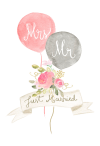 Newlywed Balloons Free Wedding Congratulations Card Greetings Island - Wedding Wishes Card, 50 Wedding Wishes Messages To Write In A Wedding Card