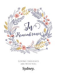 In Remembrance - Sympathy & Condolences Card (Free ...