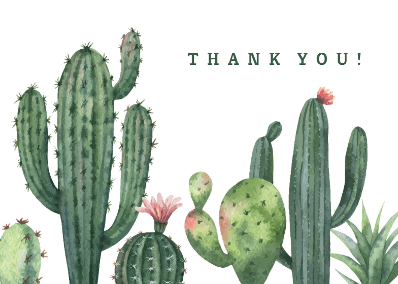 free thank you cards printable