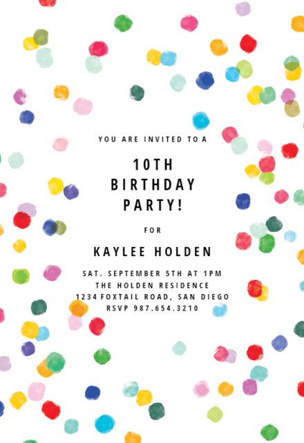 3rd birthday party birthday