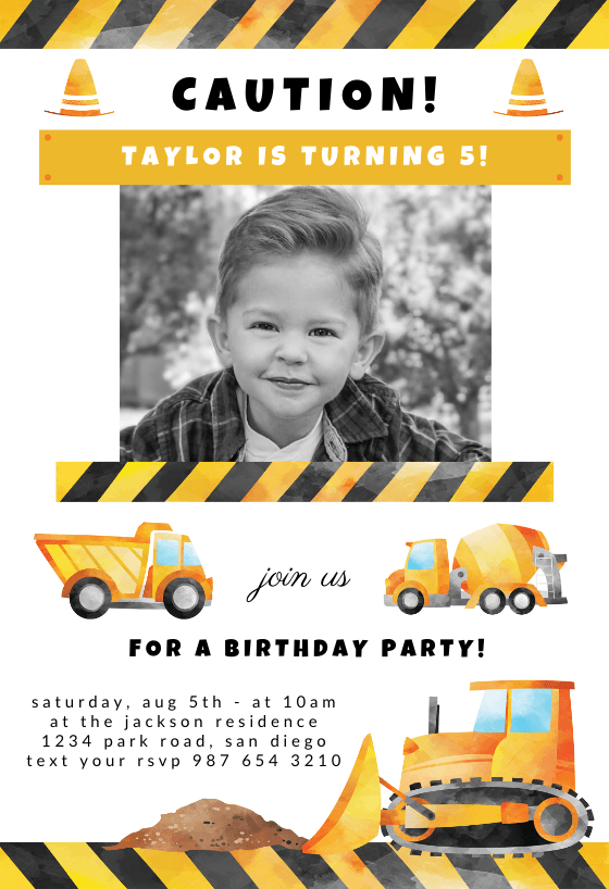 birthday invitation template free