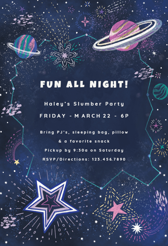 printable free party invitations