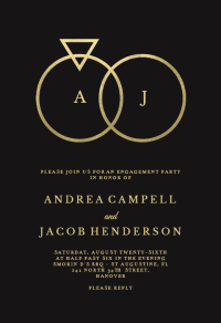 Engagement Party Invitation Templates (Free)   Greetings ...