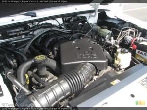 40 Liter SOHC 12Valve V6 2002 Ford Ranger Engine